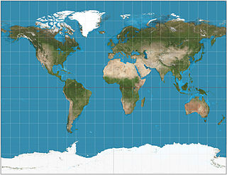 Gall stereographic projection Cylindrical map projection