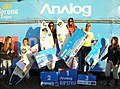 Ganadoras Categoría Mujeres del campeonato de Surf Trucos Analog Pichilemu, Air and Style 2012.jpg