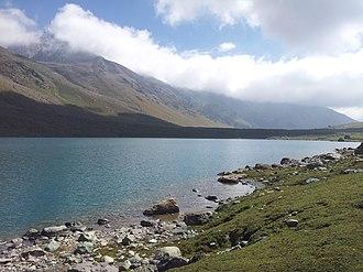 Gangabal Lake - Image: Gangabal 4