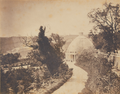 Gardens at the Palace of Necessidades, Lisbon (c. 1850-1854).png