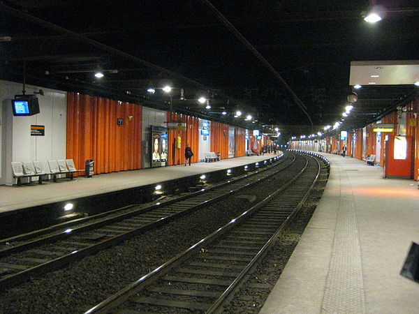 Paris rer stations for Rer wikipedia