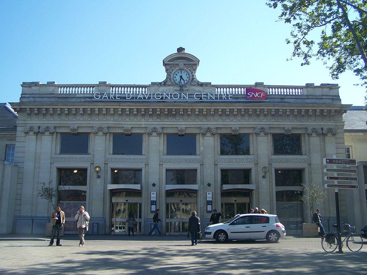 Station Avignon-Centre - Wikipedia