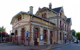railway station in Saint-Gratien, France