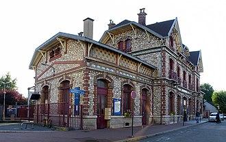 Saint-Gratien station - Image: Gare de Saint Gratien 08