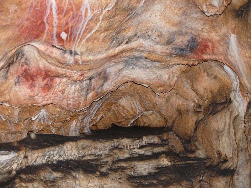 Grottes de Gargas (Aventignan) - Sanctuaire des Mains Intérieur 2 - Paléolithique supérieur - Gravettien