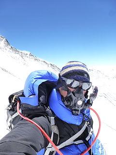 American mountain climber