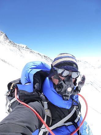 Garrett Madison - Image: Garrett Madison on Mountain 3