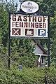 Gasthof Fenninger Wies alte Werbetafel.jpg