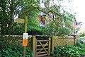 Gate, footpath, Ravenglass - geograph.org.uk - 1328502.jpg