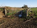 Gate on Hookwell Down Lane - geograph.org.uk - 620302.jpg