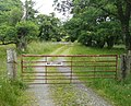 Gate to Moulinvaddie - geograph.org.uk - 1437162.jpg