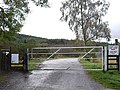 Gated entrance to Glen Strathfarrar - geograph.org.uk - 1534520.jpg