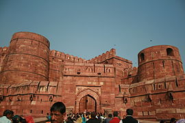 Gates and Walls-Red Fort-Agra-India5341.JPG