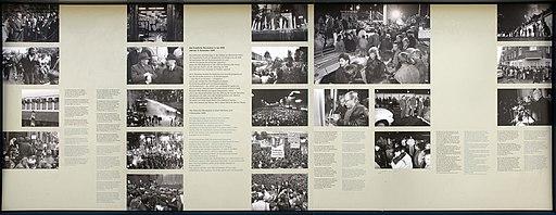 Gedenktafel Bornholmer Str (Prenz) Wende und friedliche Revolution in der DDR