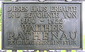 Gedenktafel Koenigsallee 65 (Grunew) Walther Rathenau.JPG