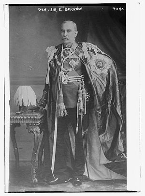 Edmund Barrow - Barrow in 1916