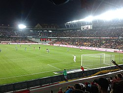 Generali Arena during an AC Sparta Game