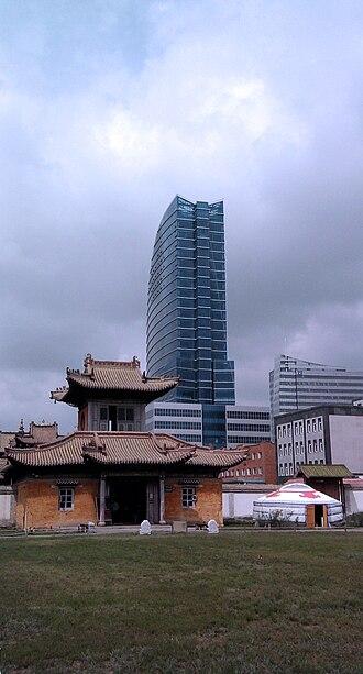Architecture of Mongolia - Architectural generations: yurt, temple and skyscraper