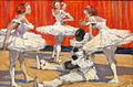 Georg Richter-Lößnitz Balletttänzerinnen und Pierrot 1912.jpg