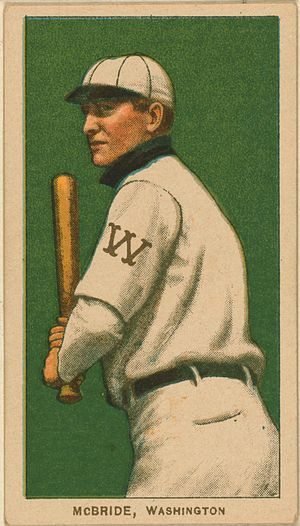 George McBride - Image: George Mc Bride baseball card