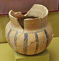 Gerreta amb decoració pintada en manganés, Segle XI - XII, Museu Soler Blasco de Xàbia.JPG