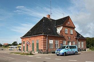 Gilleleje - Gilleleje station.