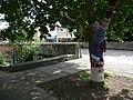 Gillingham, needlework display on tree - geograph.org.uk - 1434138.jpg