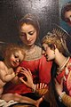 Giovan battista paggi, matrimonio mistico di s. caterina d'alessandria, da seminario vescovile di groseto, 1590 circa 03.JPG