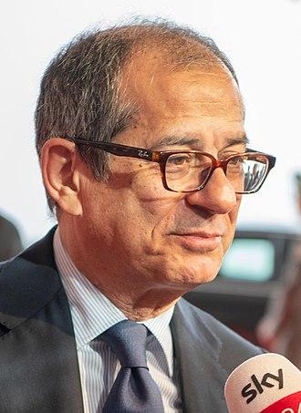 Giovanni Tria - Image: Giovanni Tria Minister