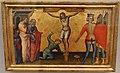 Giovanni del biondo, tre scomparti di predella, 1370-90 ca. 02 crocifissione di s. andrea.JPG