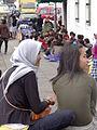 Girls Chat Outside Retribution Museum - Jakarta - Indonesia.jpg
