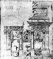 Giuliano da Sangallo Rilievo della Basilica Emilia 1480.jpg