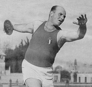 Giuseppe Tosi athletics competitor