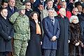 Gjenerali (Kadri Kastrati), President (Atifete Jahjaga), Kryeministri (Hashim Thaci).jpg