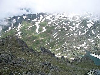 April 23, 1998 Albanian–Yugoslav border ambush - View of the mountains west of Dečani