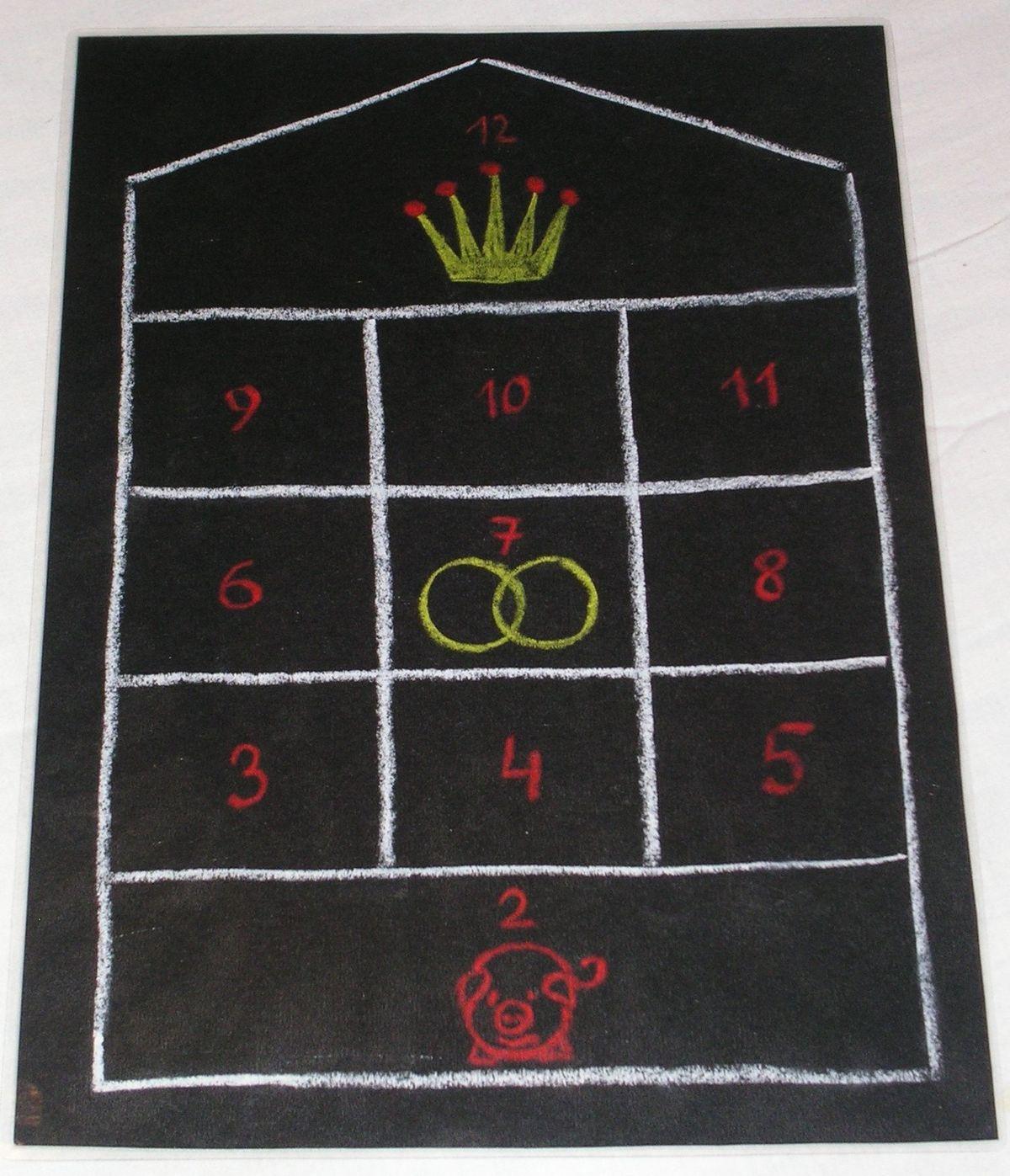 image regarding 10000 Dice Game Rules Printable known as Glückshaus - Wikipedia