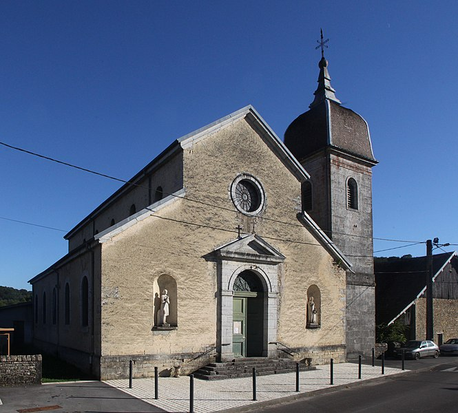 Église de Glamondans (Doubs).