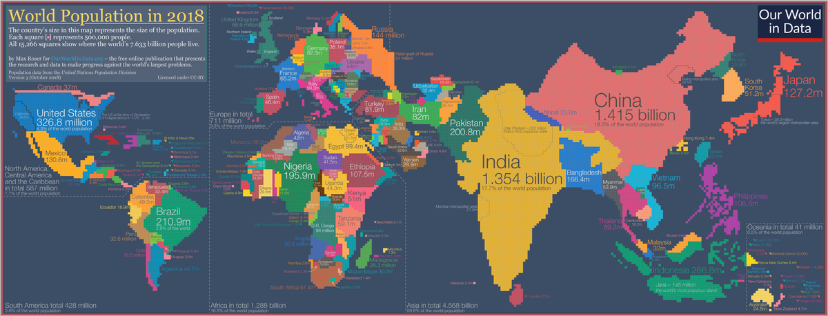 Cartogram - Wikipedia