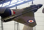 Gloster Javelin, RAF Museum, Cosford. (34803541302).jpg