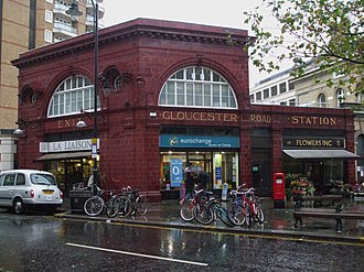 Gloucester Road tube station - Piccadilly line station building