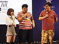 God Tone, Guo Dong and the hostess standing 20190414f.jpg