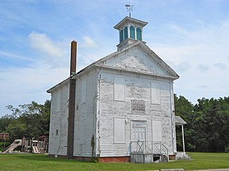 Goshen, New Jersey - Goshen School, listed on the National Register of Historic Places