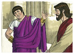 Gospel of John Chapter 18-7 (Bible Illustrations by Sweet Media).jpg