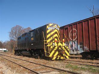 Grafton and Upton Railroad - Grafton and Upton 1750 in North Grafton, MA