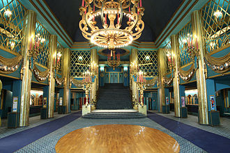 Belle Époque - Grand foyer of the Folies Bergère cabaret