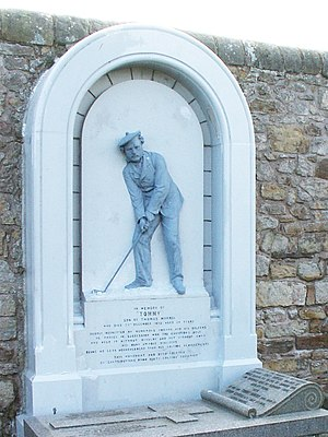 Young Tom Morris - Image: Grave Memorial To Young Tom Morris(Jim Bain)Apr 2006