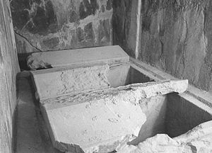 Tomb of Darius I - Two Graves in Tomb of Darius I
