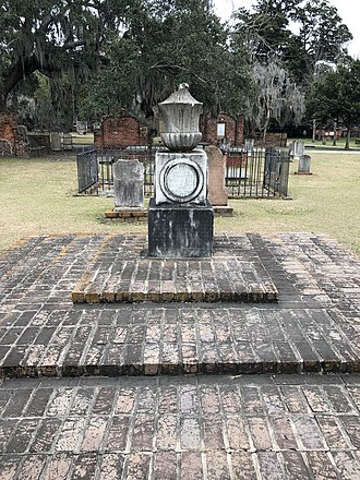 Archibald Bulloch - The gravesite of Archibald Bulloch within Colonial Park Cemetery in Savannah, Georgia.
