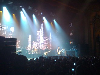 Green Day: Rock Band - Image: Green Day At Fox Theater Oakland