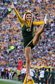 Green Bay Packers cheerleader - San Francisco vs Green Bay 2012.jpg
